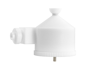Tracey TFE Spray Chamber with Helix CT, 50ml cyclonic, PTFE