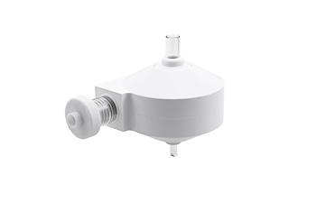 Twister Spray Chamber for IsoMist ROL V2, 50ml cyclonic, Borosilicate glass