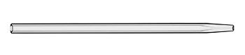 Quartz Injector 2.0mm Tapered